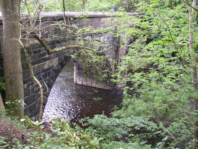 Bridge over the River Calder, Copley, Skircoat (Halifax)