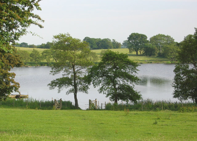 Northern head of Oss Mere