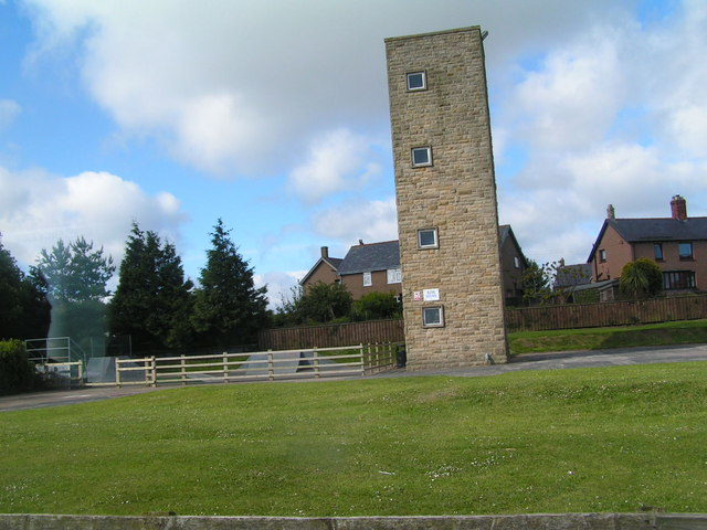 Tower at Belford Fire Station