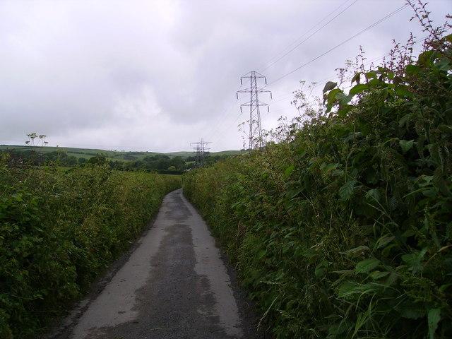 Lane and Pylons