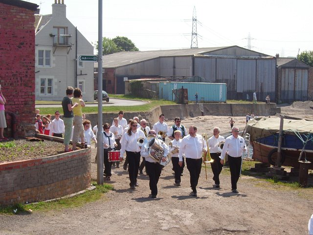 Gala day procession, Cockenzie Harbour