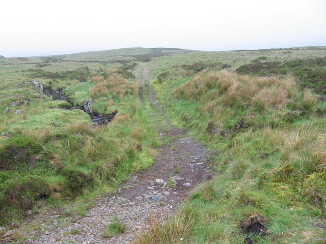 Maich Water and track to Misty Law