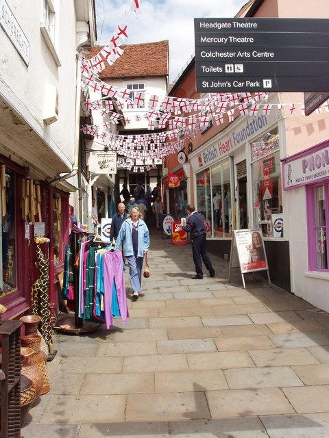 Scheregate Steps, Colchester