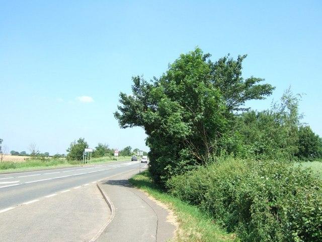 A5 near Astcote