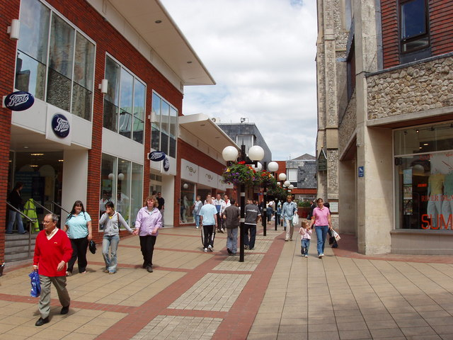 Lion Walk shopping centre, Colchester