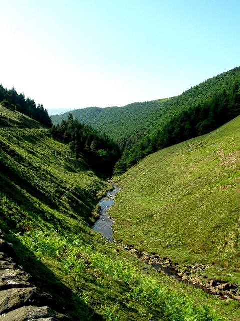 Lady Clough (Snake Pass) in Derbyshire