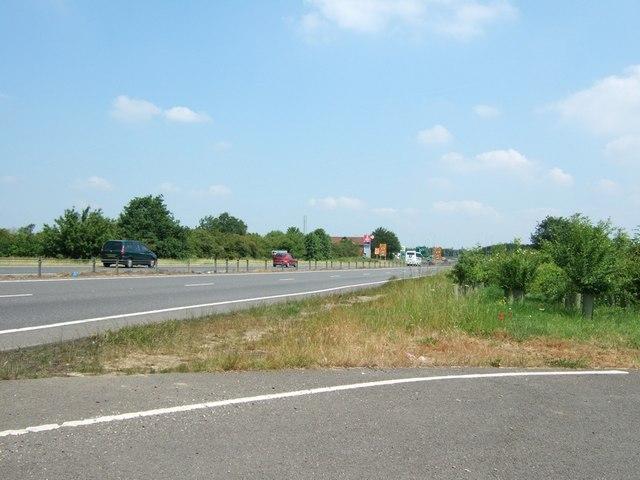 Sliproad near A43 roundabout, Towcester