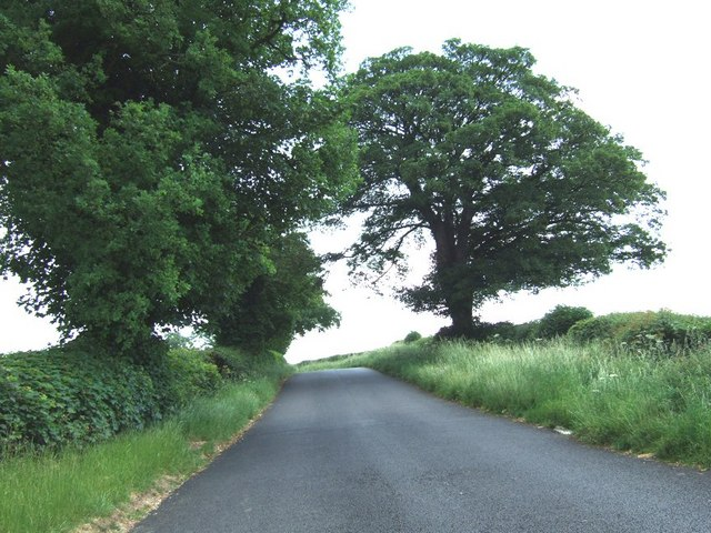 Road to Burcotewood Farm