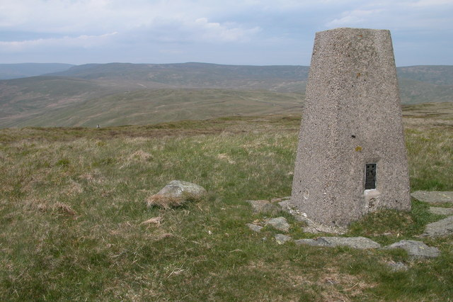 Trig point on White Howe