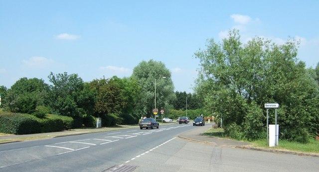 A 413 entering Buckingham