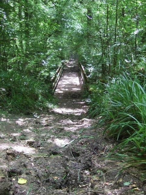 Footbridge near Vann Lake