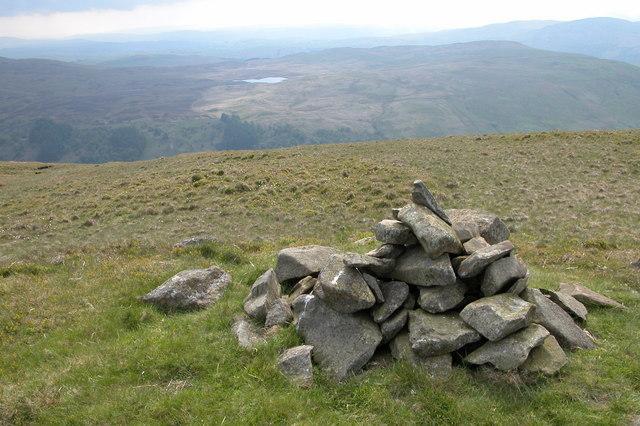 Cairn on Swinklebank Crag