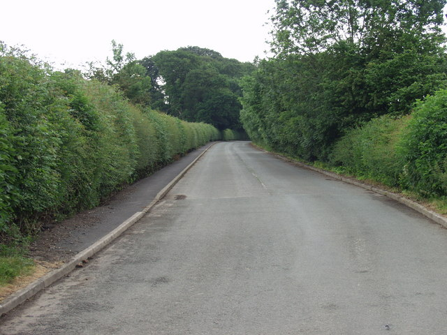 The old route of the A5