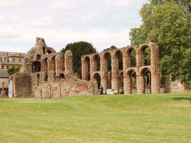 St Botolph's Priory ruins, Colchester