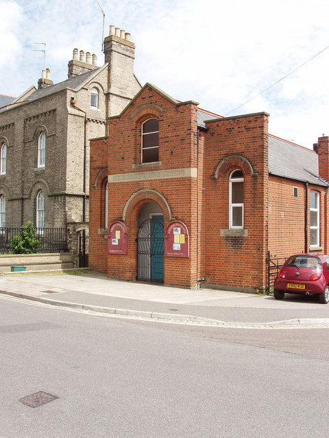 Church hall, Priory Street, Colchester