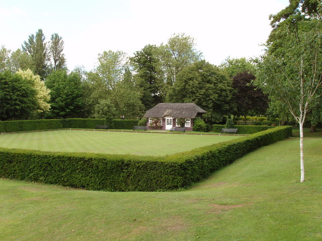 Bowling green, Castle Park, Colchester