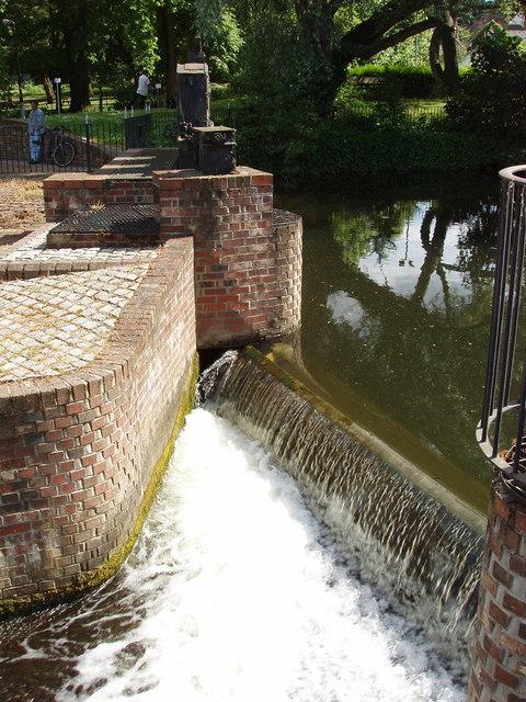 Mill weir, Colchester