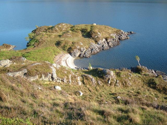 Loch  Morar - Roinn a'Ghiubhais