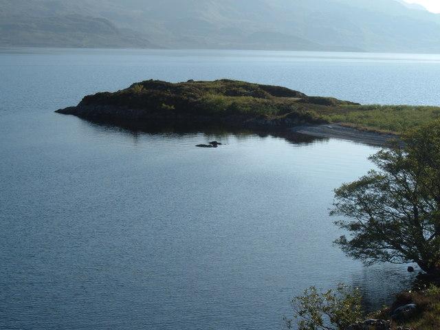 Loch Morar - Roinn a'Ghiubhais from the east