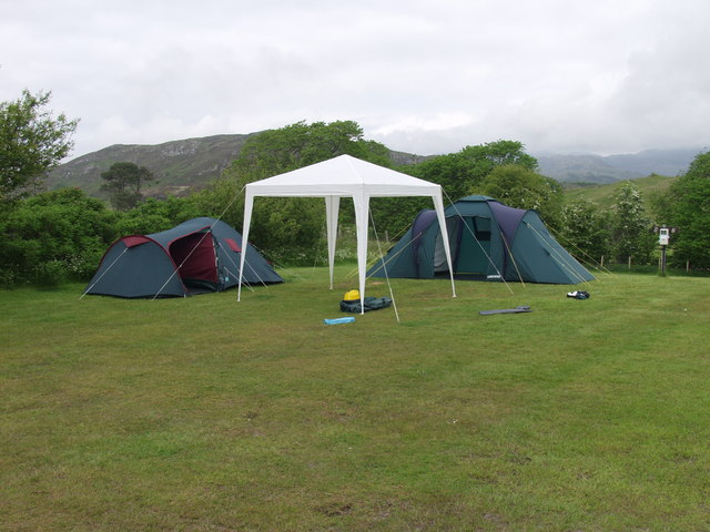 Campsite at Camusdarach Lodge