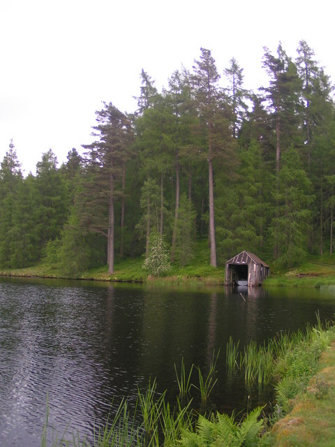 boathouse - Loch Meallbrodden