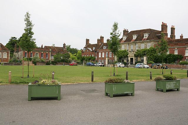 Choristers' Green, Salisbury