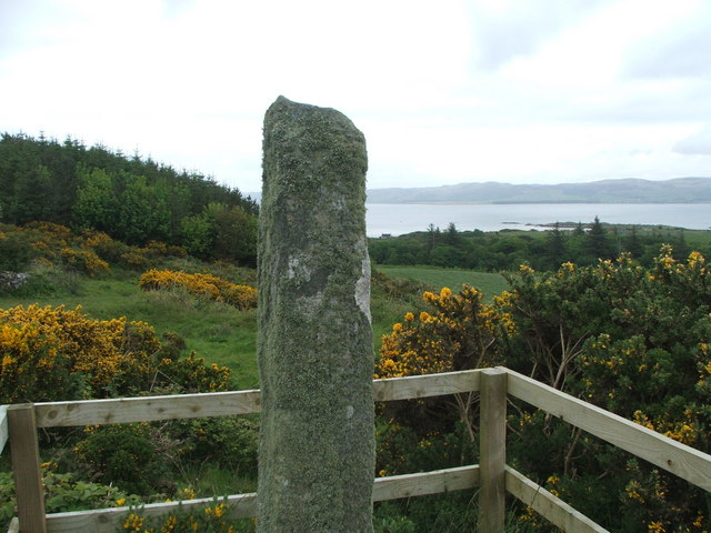 The Ogham Stone, Gigha.