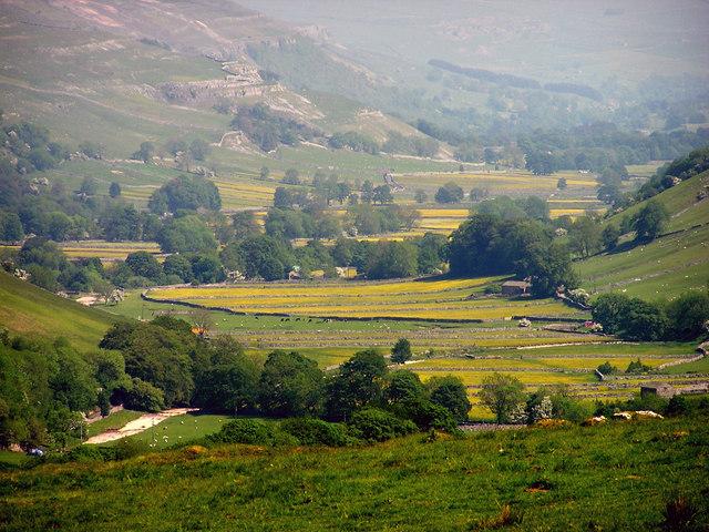 View down Littondale