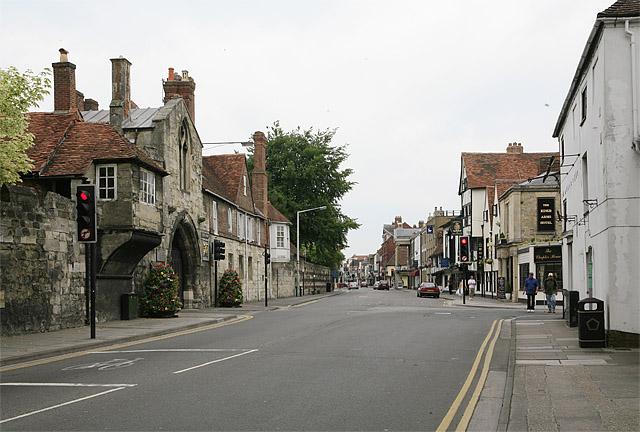 St Anne's Gate, St John's Street, Salisbury