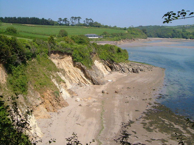 Erme estuary from Owen's Hill
