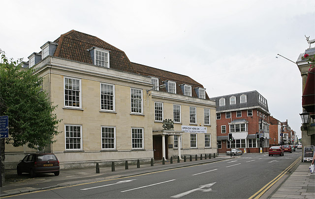 Crown & County Courts, St John's Street, Salisbury