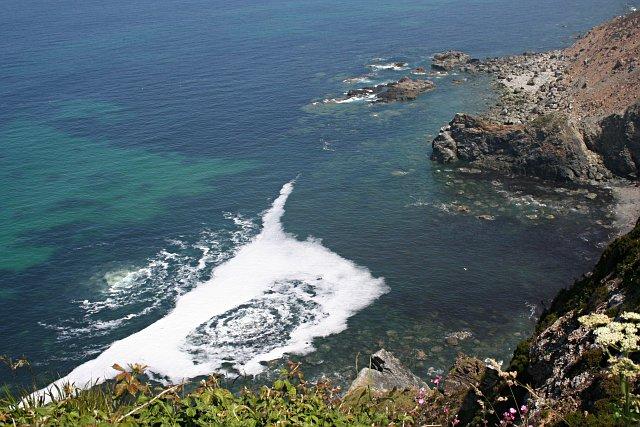 Boiling Sea under North Cliffs