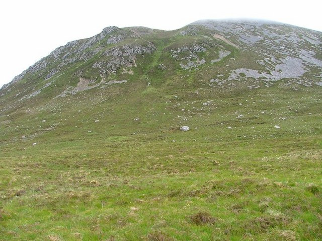 Looking Back up Glas Bheinn