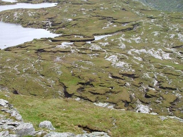 Peat and Rock, Loch nan Caorach
