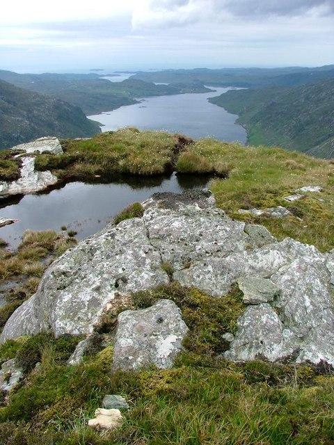 Un-Mapped Lochan, Stack of Glencoul