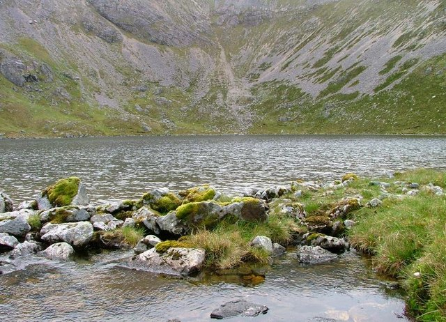 Outlet, Loch a' Choire Dheirg
