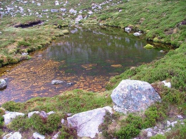 Small Lochan, Beinn Uidhe