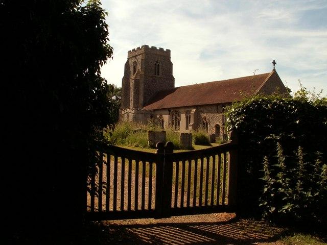 St. Ethelbert's church, Tannington, Suffolk