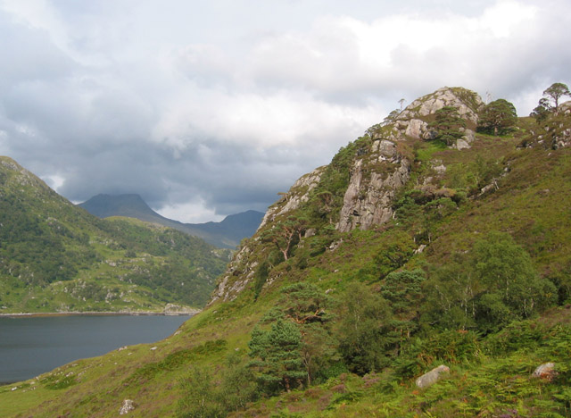 Loch Hourn, looking east