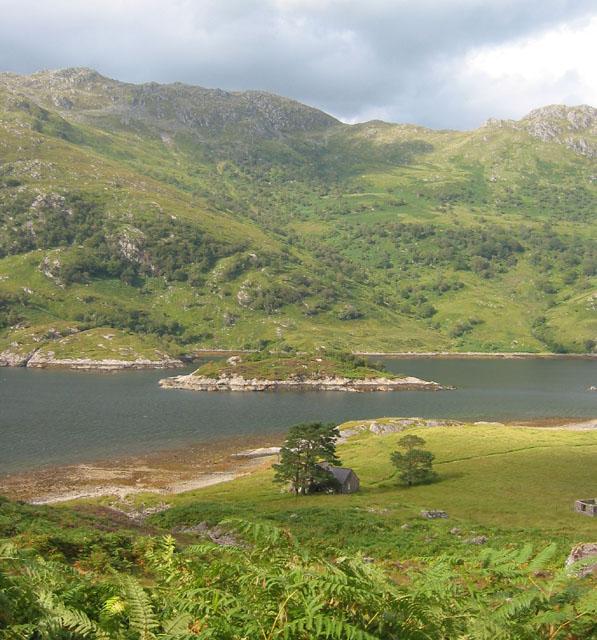 Runival and Eilean Mhogh-sgeir, Loch Hourn