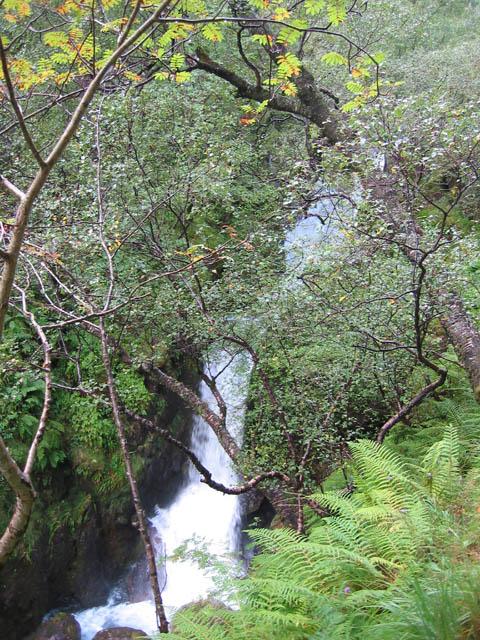 Waterfall on Allt Coire Gabhail