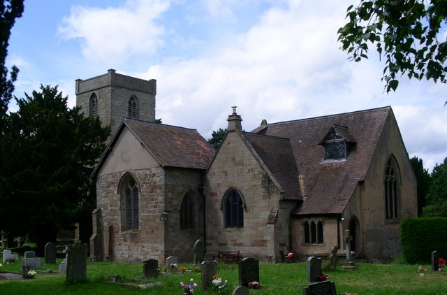 St Peters church Droitwich