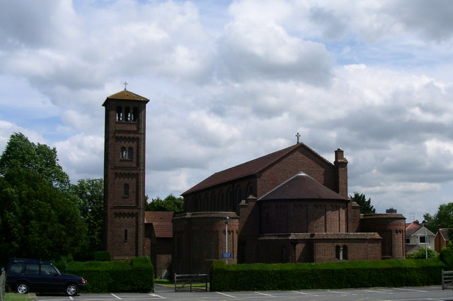 The Catholic church in Droitwich