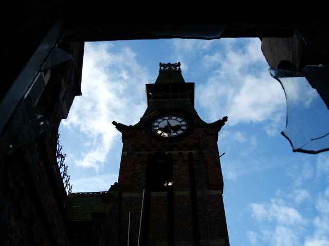 The Barnes Hospital Clock Tower