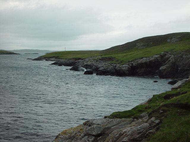 Ness of Sheenareef, West Linga, Shetland