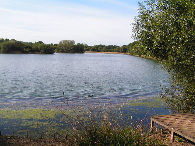 Barden Lake from the East, Haysden Country Park