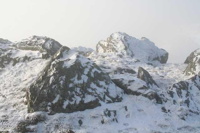 Near summit of Beinn a Chroin