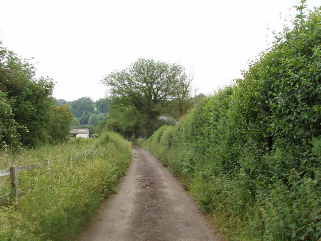 Road by Bower Farm, Chesham Vale