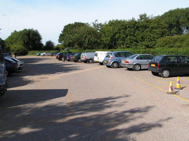 The car park, Haysden Country park