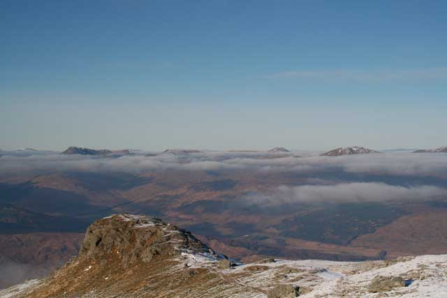 View over Strath Fillan from An Caistell